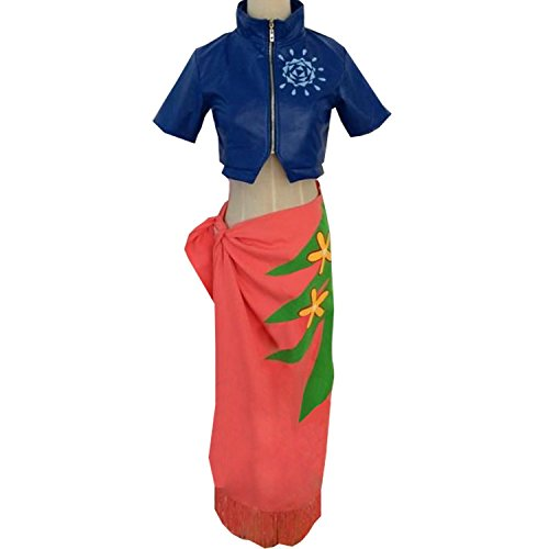 MYYH Anime Nico Robin Cosplay Costume Outfit Coat Jacket Skirt Halloween