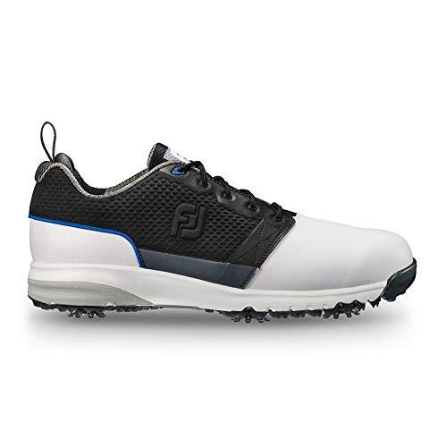 FootJoy Men's ContourFIT-Previous Season Style Golf Shoes White 10 M Black, US