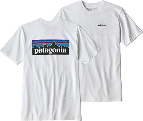 【パタゴニア】 Patagonia M's P-6 Logo Responsibili Tee 39174 BLACK Tシャツ 半袖 メンズ ロゴ プリント ブラック 黒 【並行輸入品】