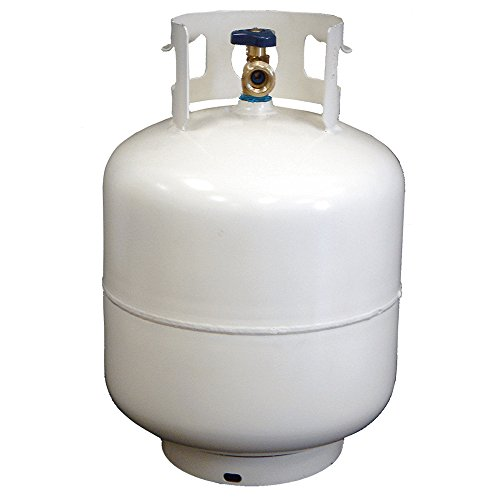 New 20 lb Steel Propane/LP Cylinder with OPD Valve (Empty Tank Propane)