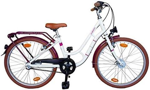 Delta Bike - Bicicleta para niña (Aluminio, 24 Pulgadas, Cambio ...