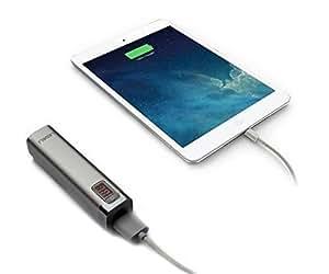 Ledeli Power Bank Batería adicional 10000mAh cargador dual USB Portable batería externa batería plata 2600 mAh