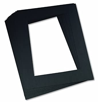 Amazon Pacon Pre Cut Mat Frames Black 12 X 18 12 Frames