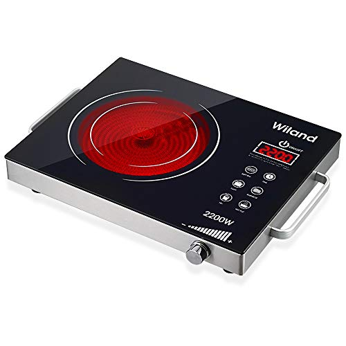 Portable Induction Cooktop induction stove Countertop Burner, 2200-Watt 120-Volts Induction Cooker...