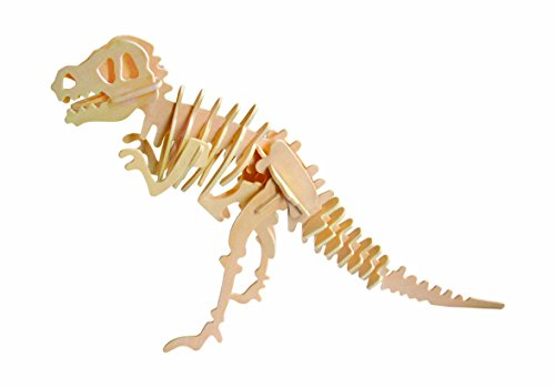 Hands Craft JP203 DIY 3D Wooden Puzzles (T-Rex) -