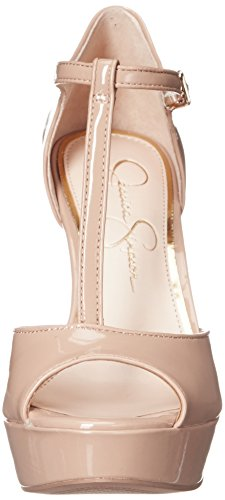 Bansi Jessica Nude Mujer Simpson Vestido Sandalia Piel Color gqgHrwE