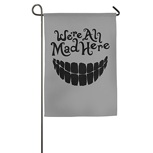 DEJML Custome Evil Teeth We're All Mad Here House Home Flag 1827inch (Game Of Thrones Season 5 Trailer compare prices)