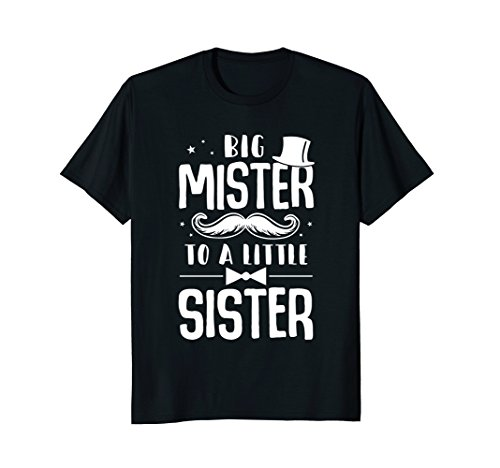 Big Mister To A Little Sister Baby Kid Shower (Big Sister Little Sister Costume Ideas)