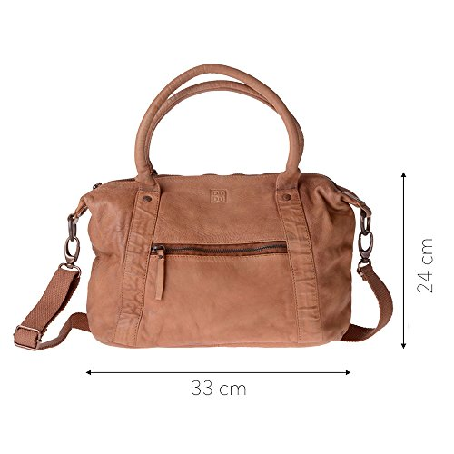 Brown Woman 1076 Brown Compact Shoulder Dudu Bag 580 03 Leather nq8vpXZA