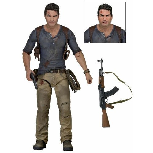 Uncharted 4 Nathan Drake Ultimate 7-Inch Scale Action Figure by Uncharted