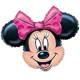 Minnie Mouse Head Supershape Foil Balloon