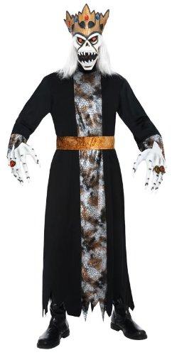 Smiffy's Demonic King Costume, Black/Gold/Red, (Demonic Costumes)