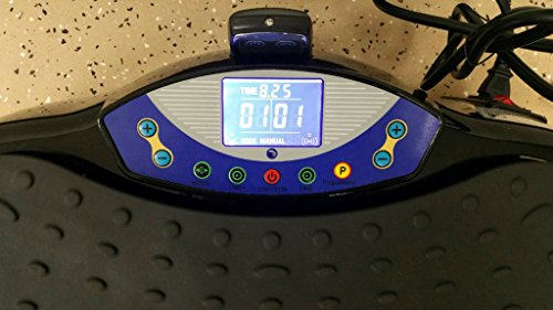 Dual Motor Full Body Vibration Plate Exercise Fitness Machine, Portable, 1500W