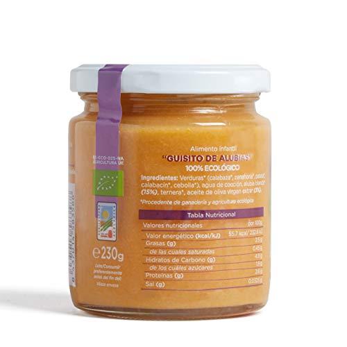 Smileat, Potito ecológico Guisito de Alubias, Comida salada para bebé - 12 de 230 gr. (Total 2760 gr.): Amazon.es: Alimentación y bebidas