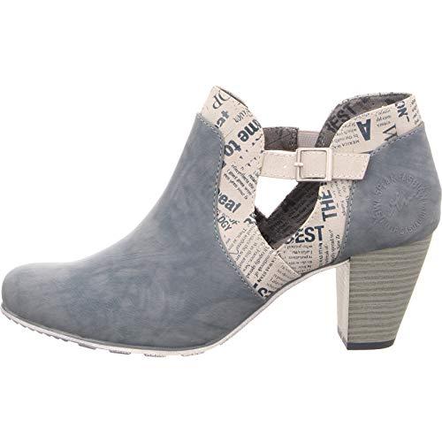 Stiefelette Damen s Oliver Blau Blau 5 Kombi Boots 25325 Ankle 5xxCZgI