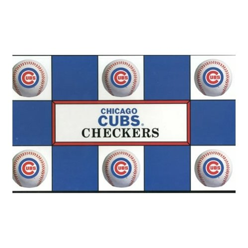 Big League Promotions Chicago Cubs Checkers