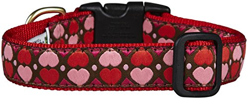 Picture of Up Country All Hearts Dog Collar - Large