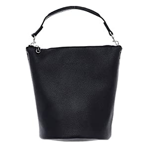 Calvin Klein Ckj Ultra Light Zip Top Bucket, Women's Cross-Body Bag, Black, 1x1x1 cm (W x H L)