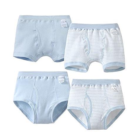 Los niños ropa interior de algodón 4 Piece / niños ropa interior ropa interior Calzoncillos Boxer