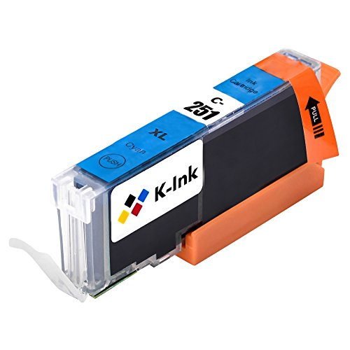 K-Ink PGI 250 CLI 251 Compatible Replacement Ink Cartridges for MX922 (10 Pack – 2 Large Black, 2 Small Black, 2 Cyan, 2 Yellow, 2 Magenta)