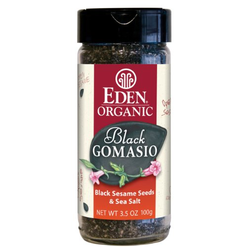 Eden Organic Black Gomasio, 3.5-Ounce Jars (Pack of 12) by Eden