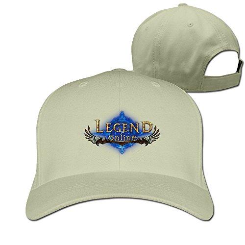 Unisex Legend Cool 100% Cotton Adjustable Baseball Cap