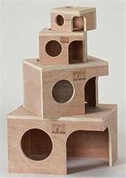 Prevue Pet Products Wood Rabbit Hut 1123