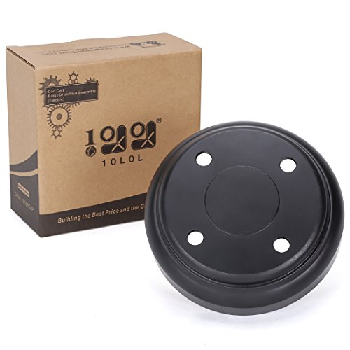 10L0L Rear Brake Drum fits Club Car DS and Precedent 95+ Rep