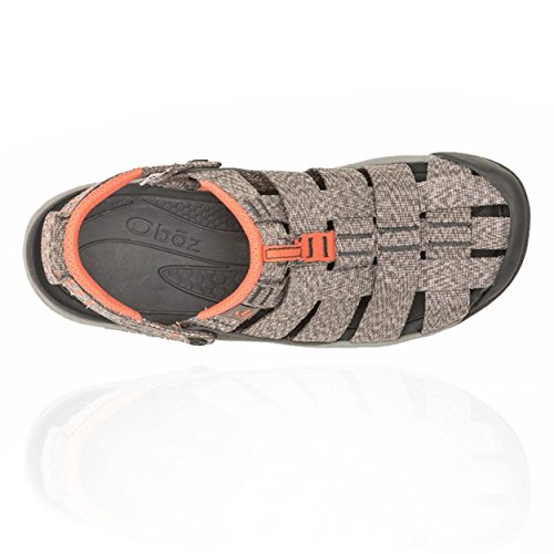 Heather Oboz Women's Gray Campster Sandals Coral raxU0nYxEW