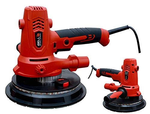 iBELL Dry Wall Sander DS80-70, 180MM, 800W, 1200-2300rpm with Vacuum and LED Light 3