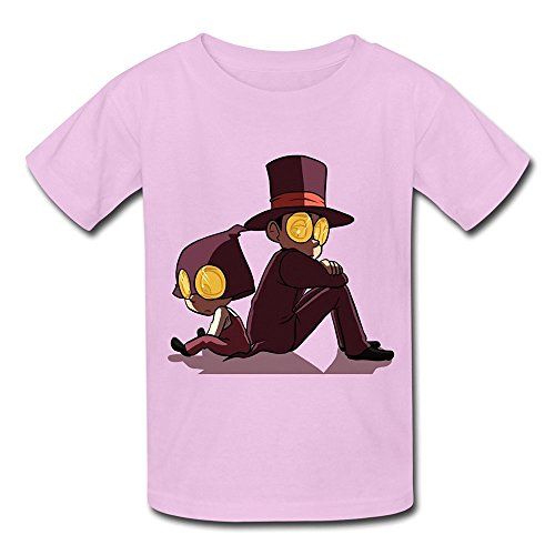 Cartoon Superjail Logo Kids Boys Girls Youth T-Shirt Pink Size S -