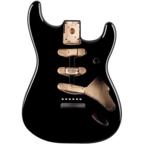 Fender Stratocaster Body (Vintage Bridge) - Black by Fender