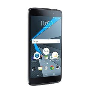 BlackBerry DTEK50 STH100-2 Factory Unlocked Android Phone, Black