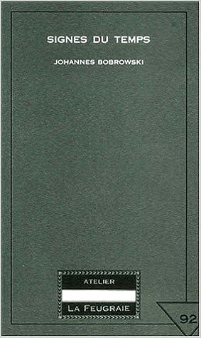 Lire un Signes du temps. : Edition bilingue français-allemand pdf, epub