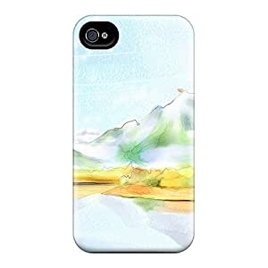 Top Quality Protection Fall At The Lake Cases Covers For Iphone 6