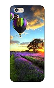 Christmas Gift - Hard Case Cover For HTC One M8 Strong Protect Case - Balloon Trip In Provence Design