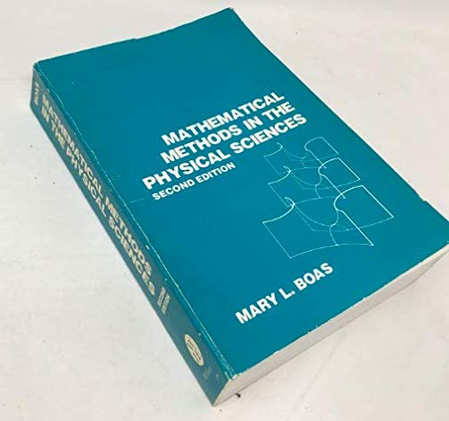Mathematical Methods in the Physical Sciences: 2nd Ed