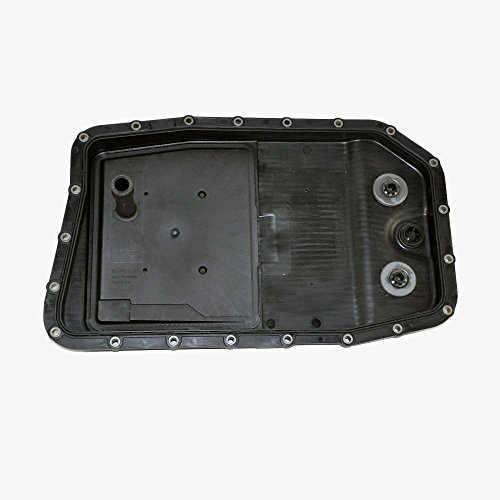 Land Rover Transmission Oil Pan + Filter + Gasket + Plug Automatic ZF OEM 227 -  ZF Germany FILTRAN, ZF 24 11 7 571 227-CA