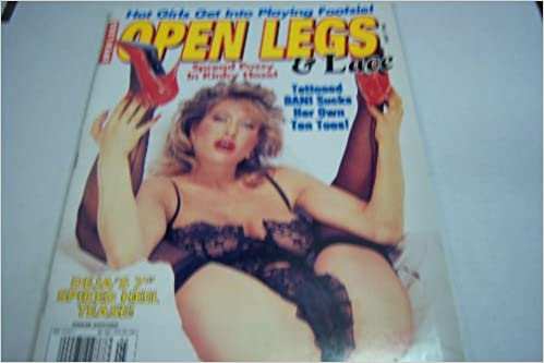 Open Legs & Lace Busty Adult Magazine