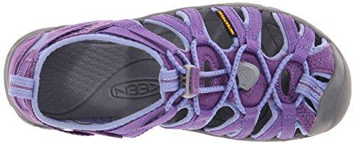 Keen Whisper - Zapatillas de senderismo Unisex Niños Violett (Purple Heart/Periwinkle)