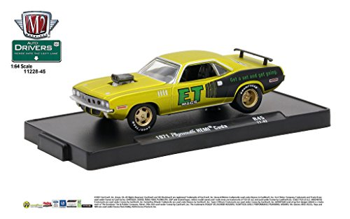 M2 Machines Auto-Drivers 1:64 R45 1971 Plymouth Hemi for sale  Delivered anywhere in USA