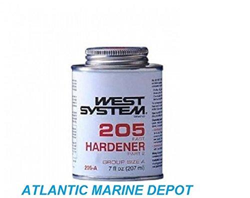 West System 205 Fast Hardener, .43 Pt .47 Lb
