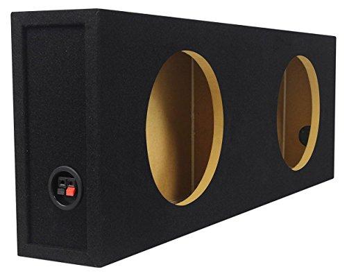 Rockville Slim Sub Box Enclosure for 2 Rockford Fosgate P3SD4-10 10