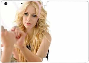 Cubierta de cuero y caja de la PC funda / soporte para funda de Apple iPad Mini 4 funda Con Magnetic reposo automático Función de despertador DIY por Avril Lavigne L8C1Wo7F4Hw