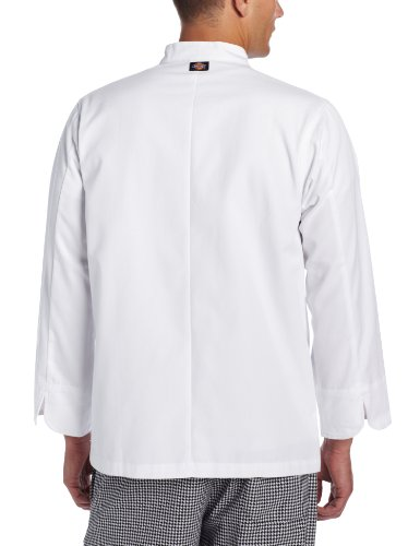 Dickies Men's The 8 Button Chef Coat