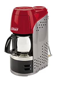 Amazon.com : Coleman Portable Propane Coffeemaker with Stainless Steel Carafe : Camping Coffee ...