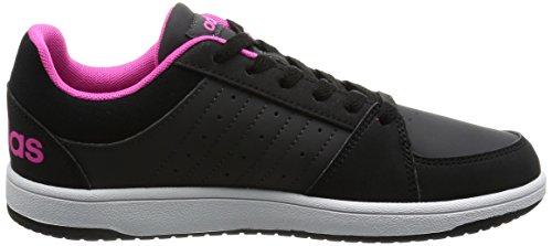 Adidas VS HOOPS K–Sneaker deportivaspara Kinder, grau–(grpudg/rosimp/negbas), 29