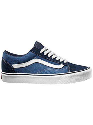 Vans Old Skool Lite Plus - Zapatillas Unisex adulto Azul (suede/canvas/navy/white)