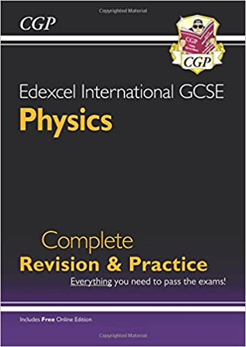 Book Edexcel International GCSE Physics Complete Revision & Practice with Online Edn. (A*-G)