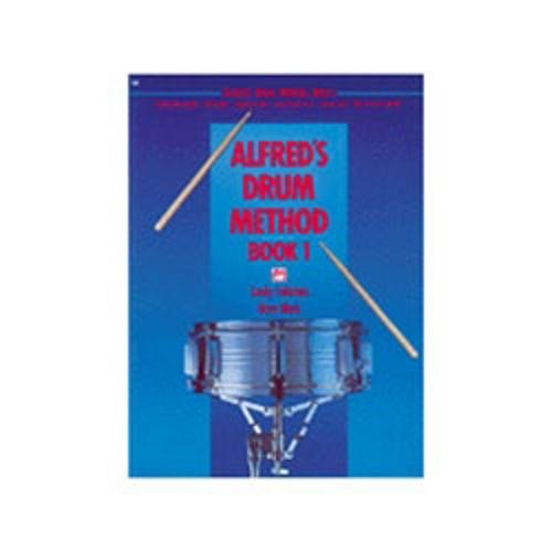 Alfred Alfred's Drum Method - Book 1 (Book)